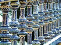 Sevilla ceramic bridge closer