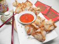 Air Fryer Crab Rangoons