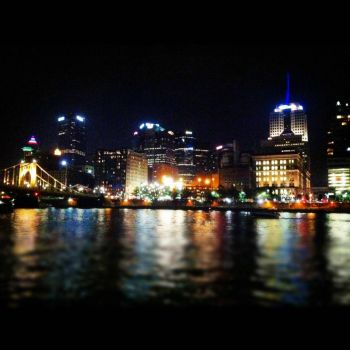 Downtown Pittsburgh - photog unkown