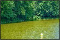 Rozlitá přehrada po letošních bouřkách v Liberci...  Spilled dam after this year's storms in Liberec ...