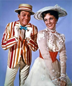 MARY POPPINS - JULIE ANDREWS & DICK VAN DYKE