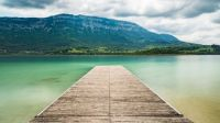 Lake Aiguebelette, Savoy, France