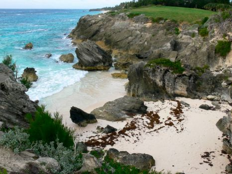 The other side. Bermuda.