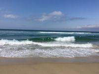 Pacific Ocean Meets Shore