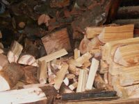 Wood for heating ...