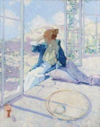 """""""Woman by a Window"""""""