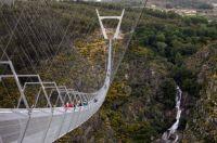 New pedestrian bridge in Portugal