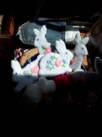 Bunny Ornaments 2020