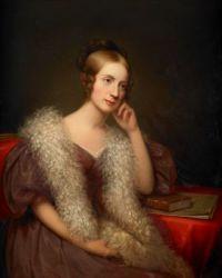 Rembrandt Peale Caroline Louisa Pratt Bartlett 1835-1836