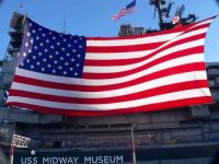 AMERICAN PATRIOT day onboard the USS MIDWAY.