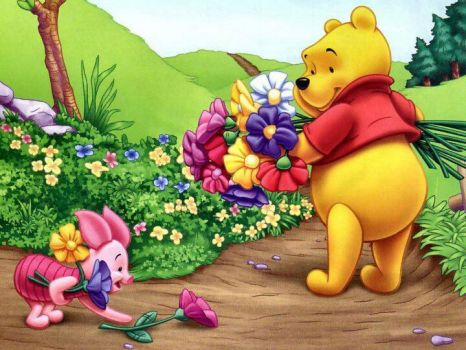 It's spring, Pooh