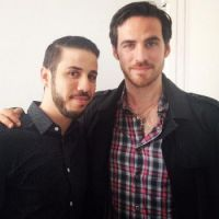colin and a fan