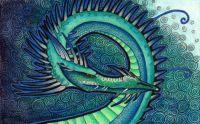 Dark Deep Water Dragon