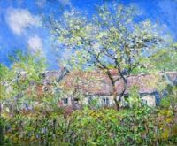 Claude Monet - Springtime at Giverny, 1886 (Apr17P40)