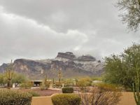 Graupel on the Superstitions 1-25-21