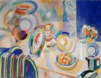 Portuguese Still Life, Robert Delaunay, 1916