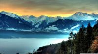amazing mountainscape