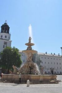 Fountain in Salzburg