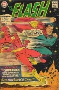 flash vs superman (1967)