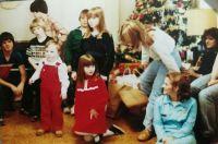 Christmas- Our Gang at Grannie's house for Christmas morning Shindig!