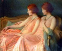 Albert Herter The Bouvier Twins