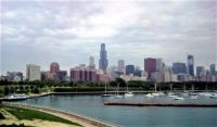 Chicago Skyline at Harbor