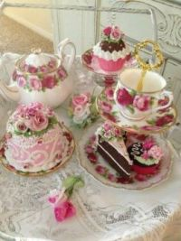 Let's have tea and cake!
