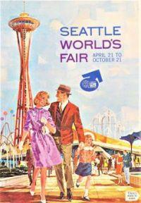 Themes Vintage ads -  Seattle World's Fair ad 1962