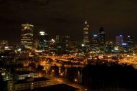 Perth at night