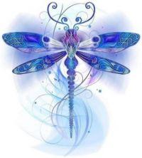 Bluetiful Dragonfly