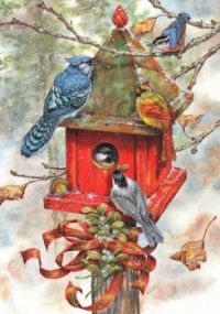Winter Birdhouses #2