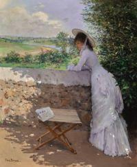 """Jean Béraud, """"Un Figaro de Rève"""""""