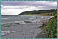 Rough water on the Lake.