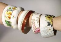 Bracelets made from Teacups