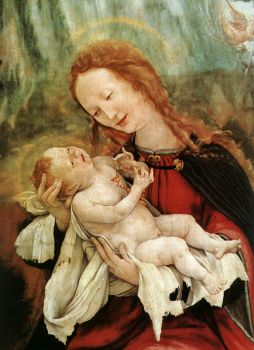 Christ Child - Art by Matthias Grunewald