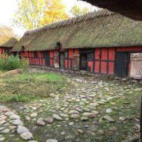 Denmark,  old farm house.