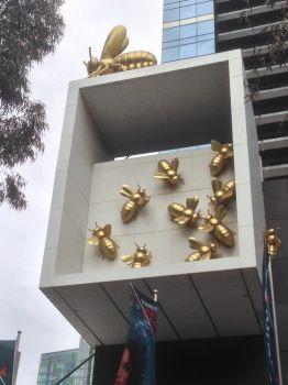 Buzzy Building Art