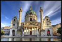 St Charles Church in Vienna