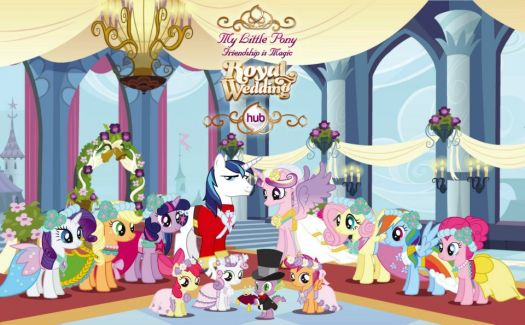 Mlp, royal wedding