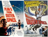 Plan 9 from Outer Space ~ 1959 and Mutiny in Outer Space ~ 1965