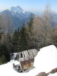 Mountains around Monte Lussari - Višarje, Friuli, Italy