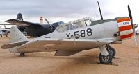 North American AT-6B Texan. Pima Air and Space Museum.