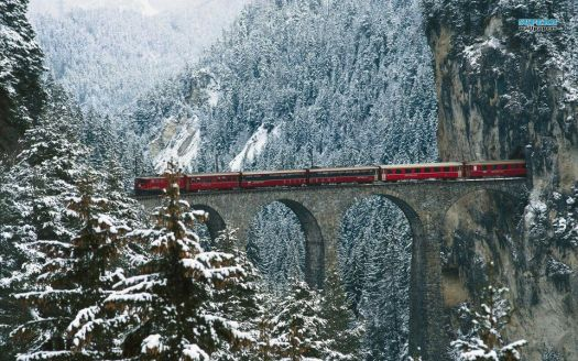 Now that's a train ride! :)