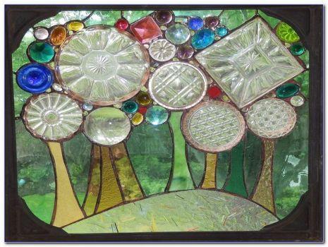 Recycled Glass Window