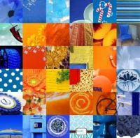 Yellow-Orange-Blue