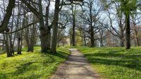 Tyresö Slott Gardens in Spring