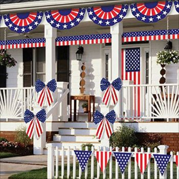 Solve 4th Of July House Decorations 1 Jigsaw Puzzle Online With 121 Pieces