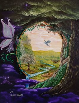 I Came Upon a Faerie Tale - MELANIEJOY ~ difficult