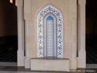 SULTANAT OF OMAN – Muscat – Sultan Qaboos Grand Mosque – Decoration Inside the Mosque