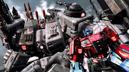 Optimus and Metroplex